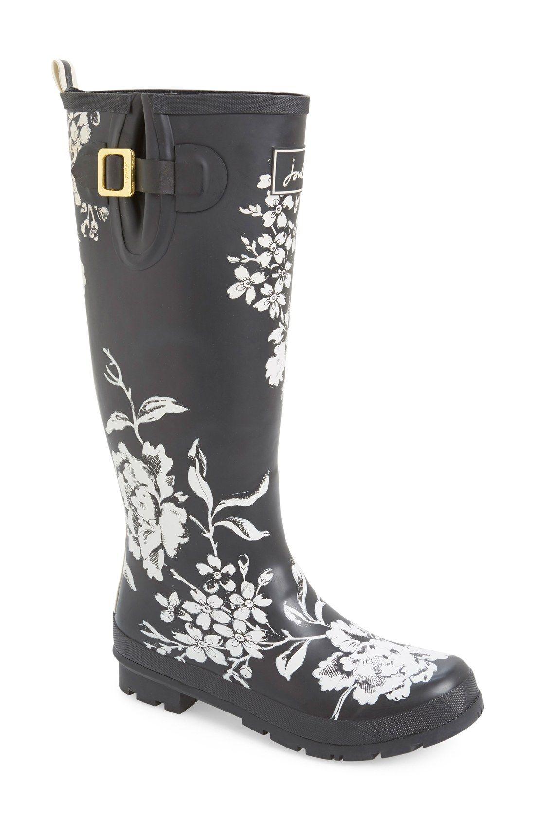 Welly' Print Rain Boot