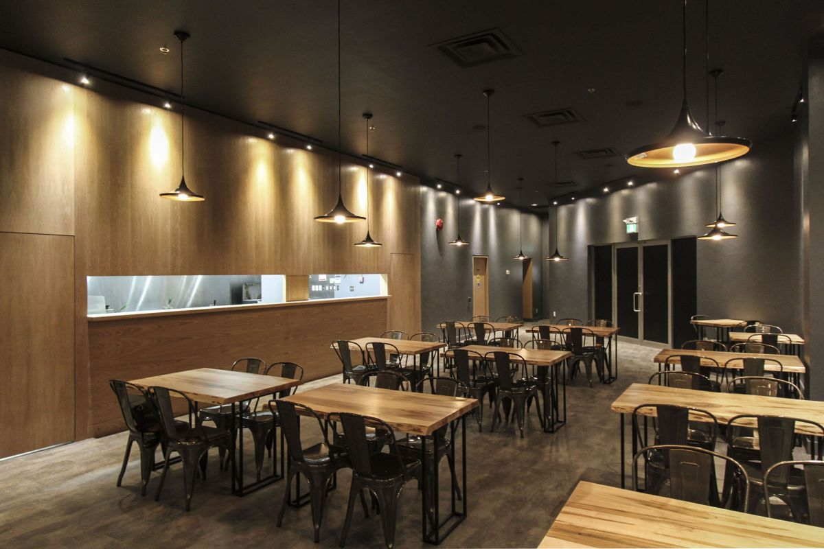 Le japanese modern cuisine by atelier sun retailand for Restaurant design
