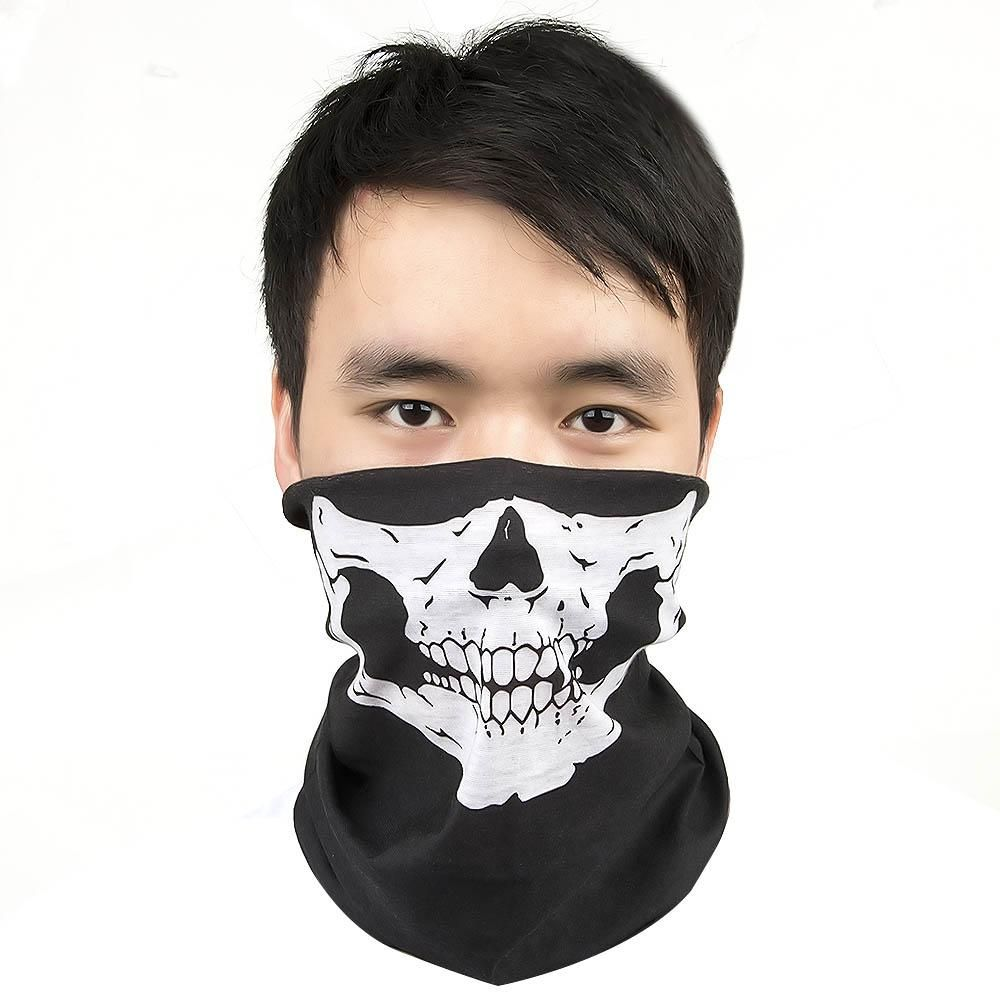 Wear as a Bandana Artistic 3D Versatile Sports /& Casual Headwear Balaclava Neck Gaiter