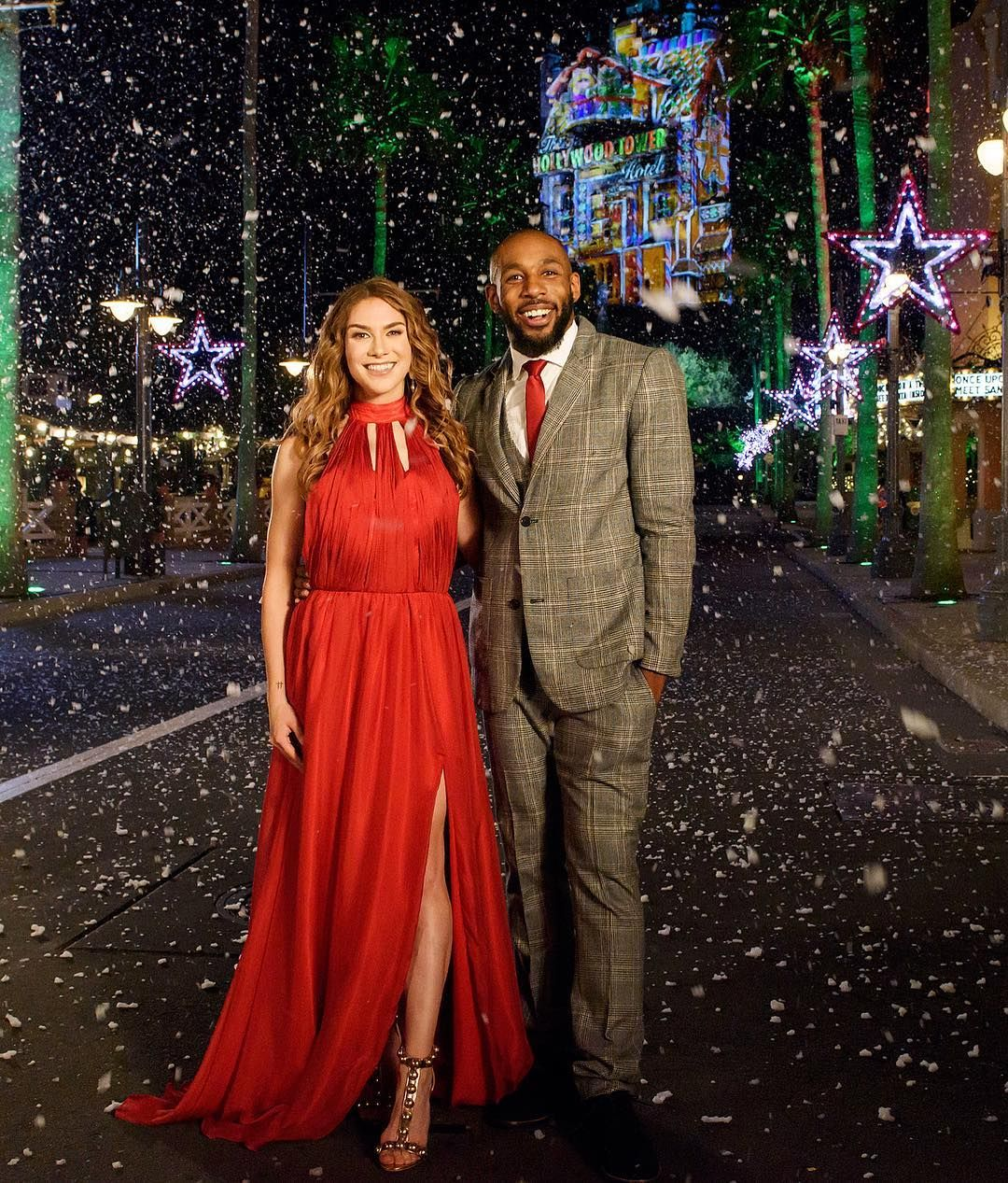 Allison Holker And Husband Stephen Twitch Boss To Host Disney S Fairy Tale Weddings Series And Holiday Magic Special Disney Fairy Tale Weddings Wedding Tv Shows Celebrity Couples