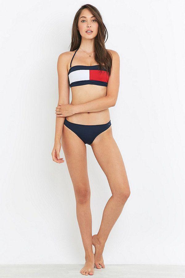98b9de14292fb Tommy Hilfiger Flag Bikini Set | Holiday in 2019 | Tommy hilfiger ...
