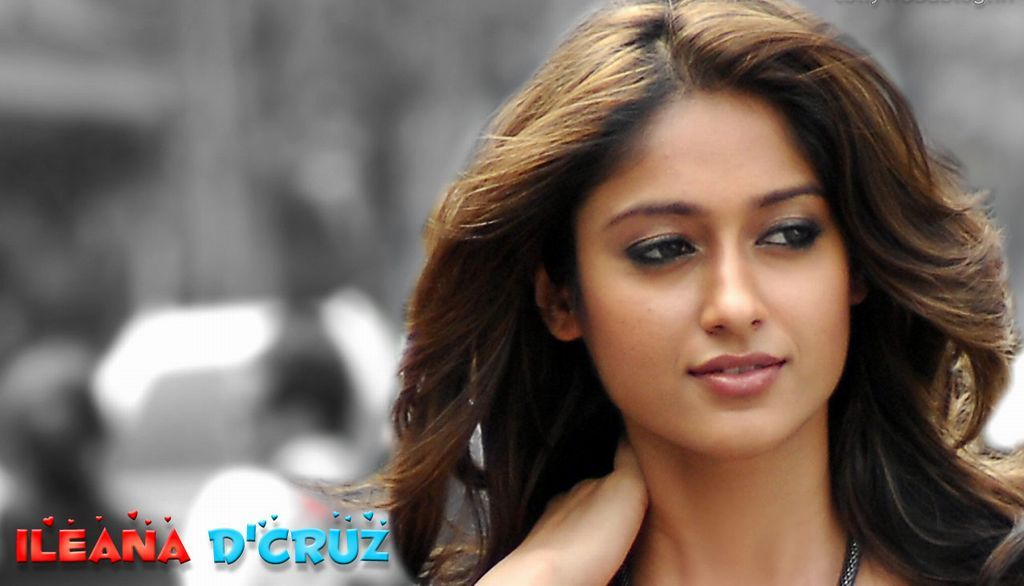 Cute Actress Ileana Dcruz Hd Widescreen Wallpaper Bollywood