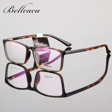 001aab3afbc Bellcaca Spectacle Frame Eyeglasses Men Women Computer Optical Eye Glasses  Myopia Prescription Frame For Male Clear Lens BC036