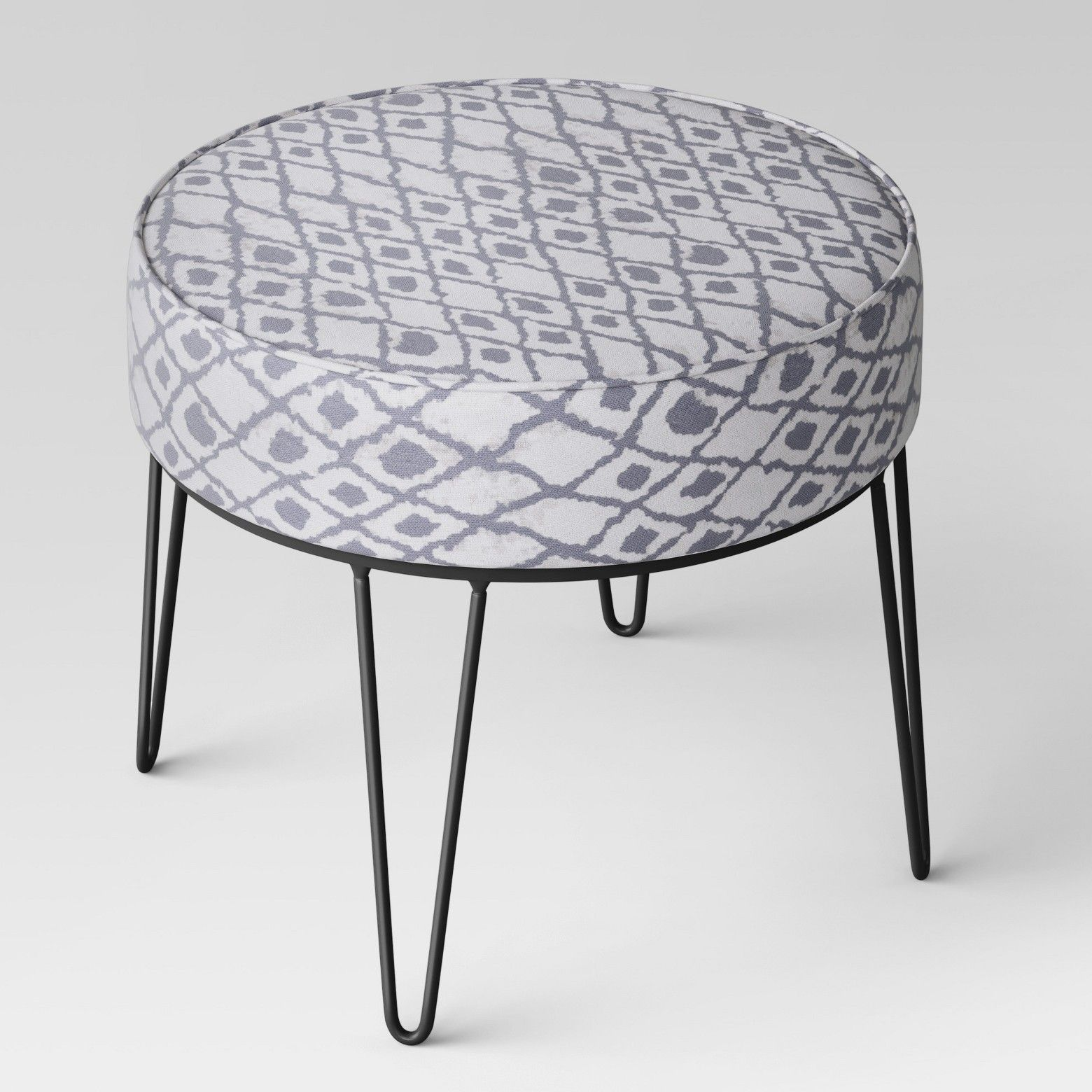 For A Comfortable Ottoman With A Decorative Twist Add The Carman