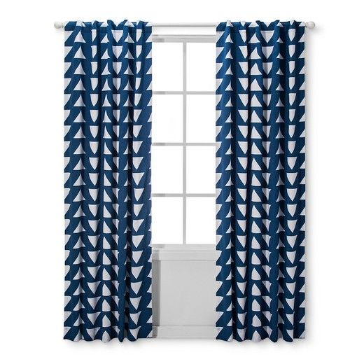 Light Blocking Curtain Panels Triangles 2pk Cloud Island Blue Target Light Blocking Curtains Panel Curtains Curtains