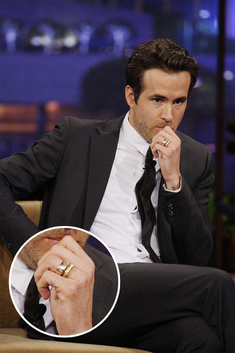 Guy Wearing Wedding Ring