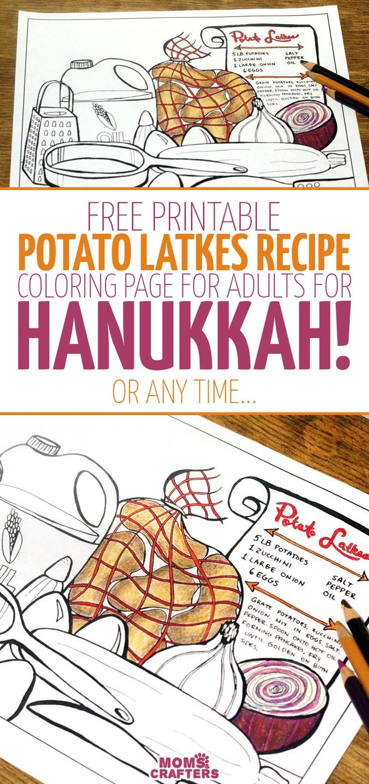 Get This Color In Latkes Recipe Potato Latkes Hanukkah