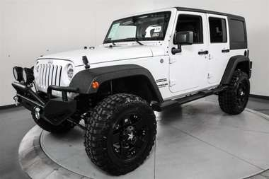 Used 2014 Jeep Wrangler Unlimited Sport 4x4 Austin Tx Apple