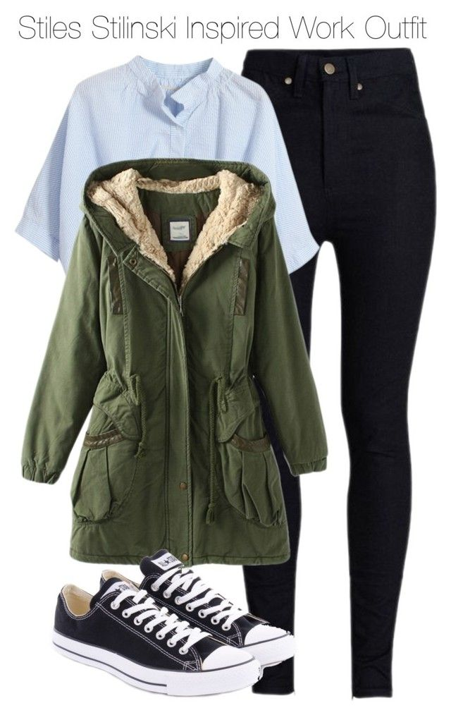 """""""Stiles Stilinski Inspired Work Outfit"""" by staystronng ❤ liked on Polyvore"""