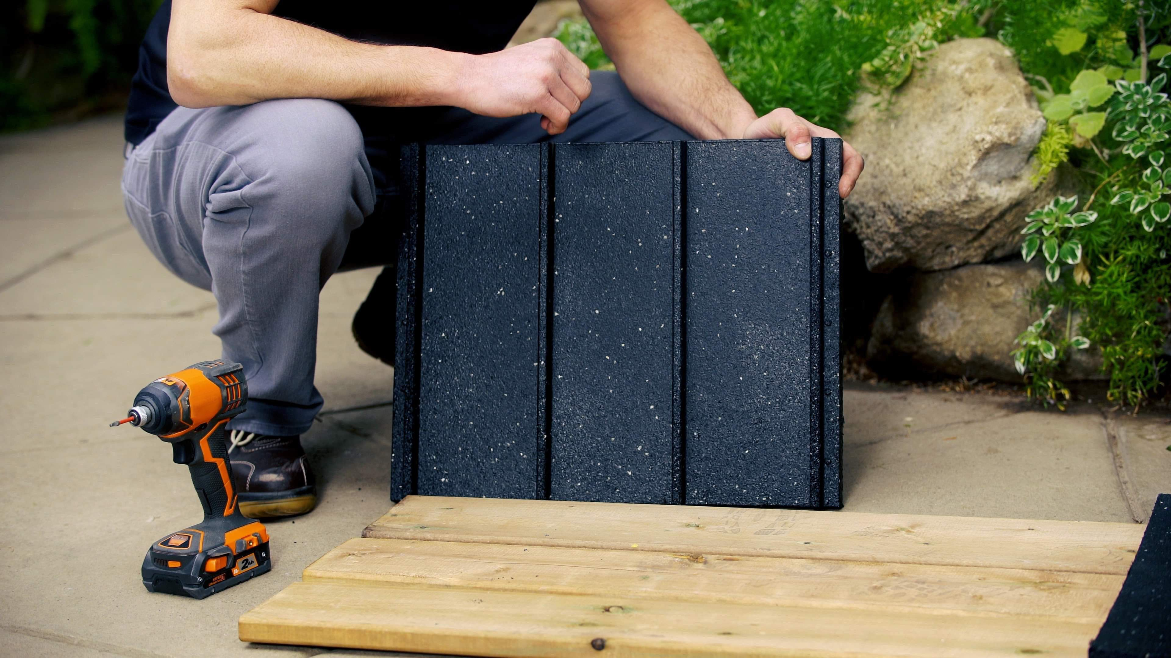 Multydeck Recycled Rubber Bases For Quick Install Floating Decks In 2020 Building A Floating Deck Recycled Rubber Floating Deck