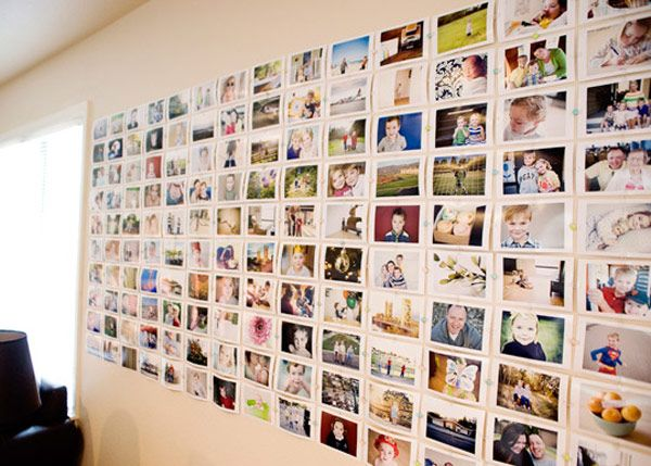 Ideas For Hanging Pictures On Wall Without Frames 8 ideas to decorate your wall with pictures #photographs #diy