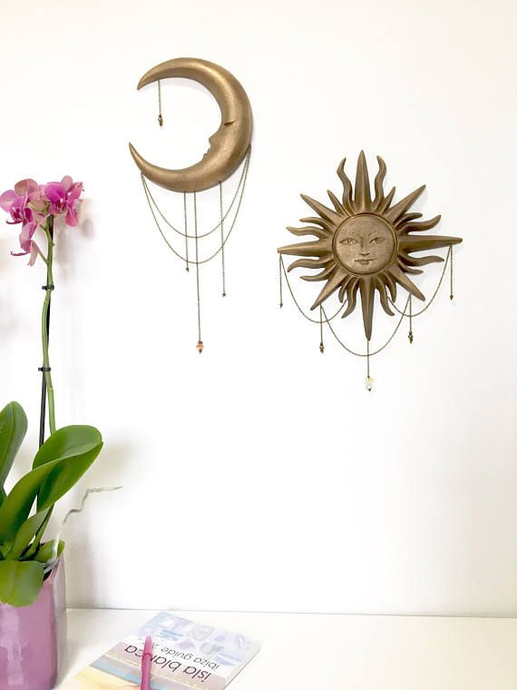 Love By The Moon Bronze Finish Wall Sculpture A Sleepy Waxing