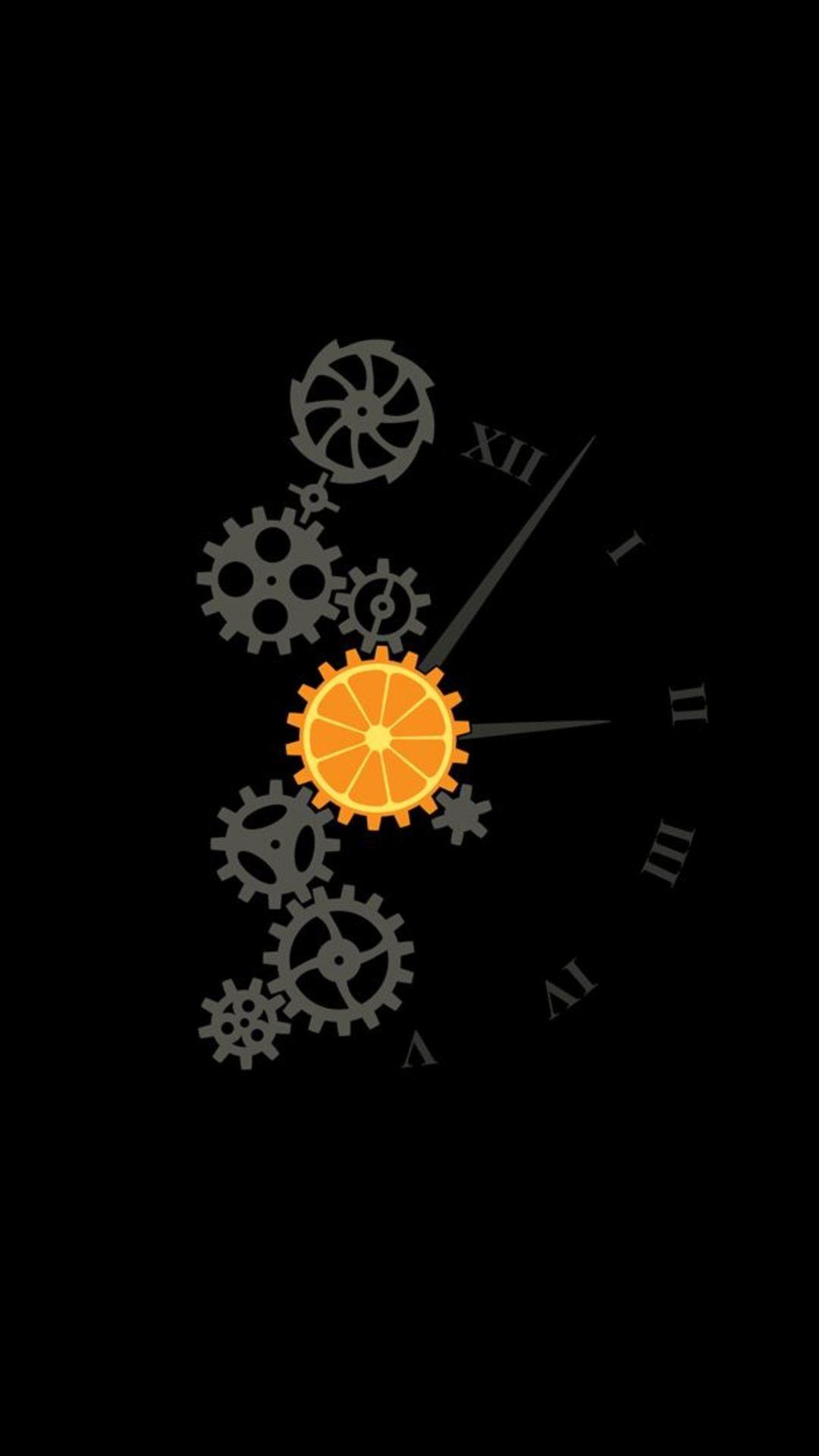 Clock Minimalism Image Wallpaper – [1080×1920] 4K