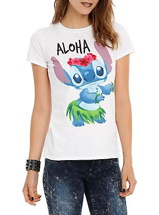 Disney Lilo Stitch Aloha Girls T Shirt Lilo Stitch Lilo Stitch Shirt Lilo Stitch Merchandise