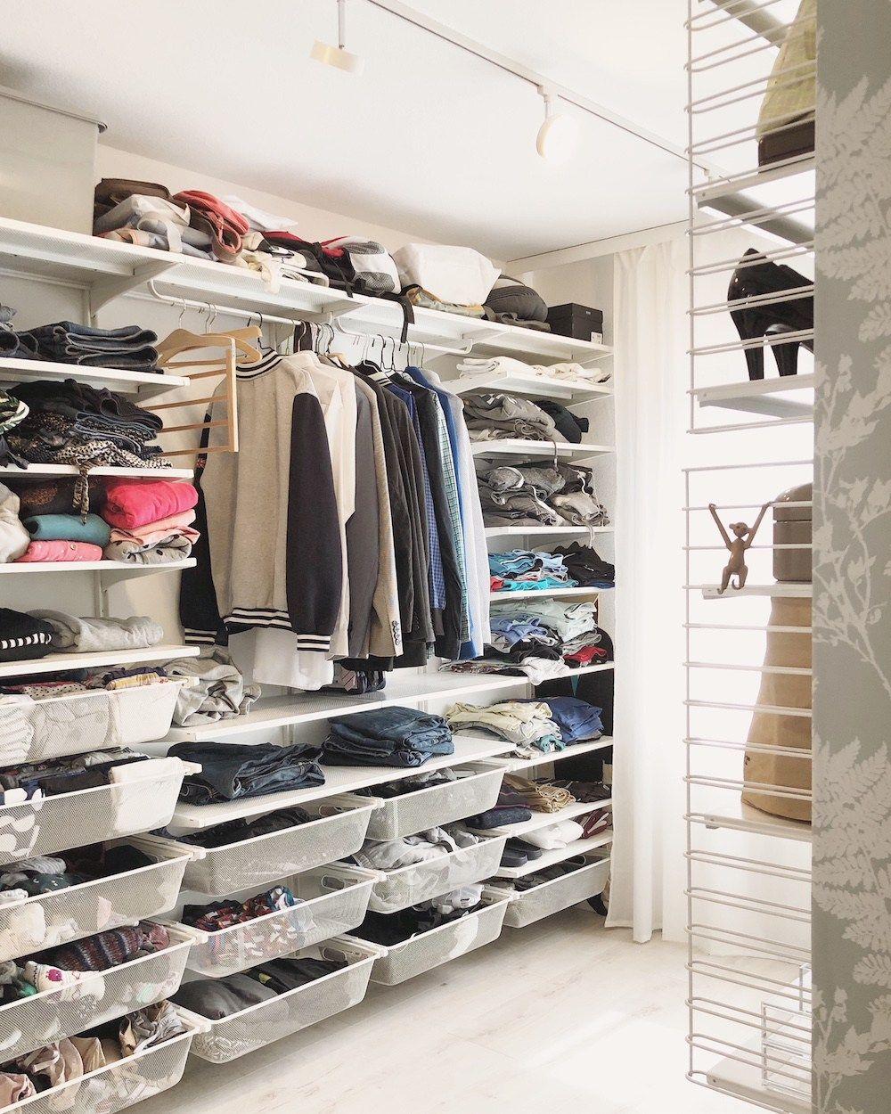 Organisation Im Ankleidezimmer Tipps Und Ideen Fur Den Begehbaren Kleiderschrank Ankleide Zimmer Ankleide Ankleidezimmer