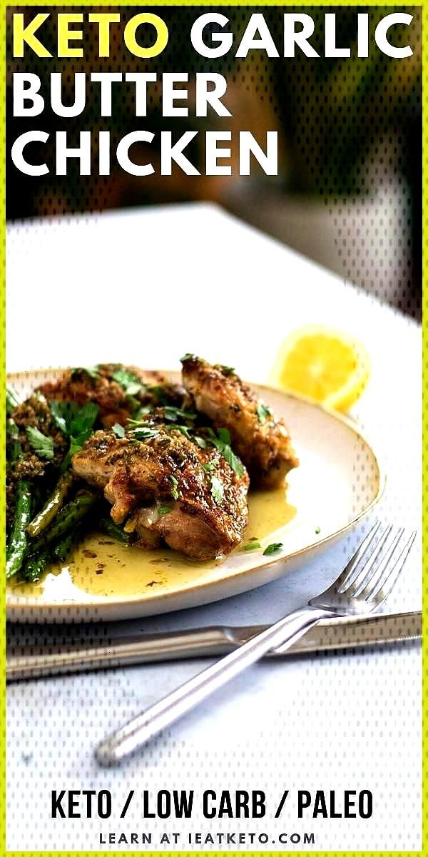 Easy Garlic Butter Keto Chicken Thighs with Green Beans Garlic Butter Keto Chicken Thighs A delicio