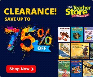 Scholastic Teacher Store Spring Special ends 5/31/16