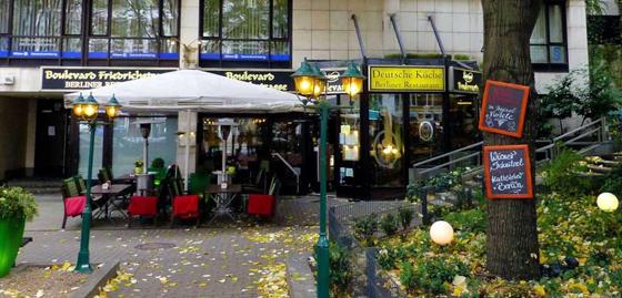 Boulevard Friedrichstrasse Deutsche Kuche In Der Mitte Von Berlin Seit 1996 Restaurant Berlin Mitte Deutsche Kuche Restaurant Berlin