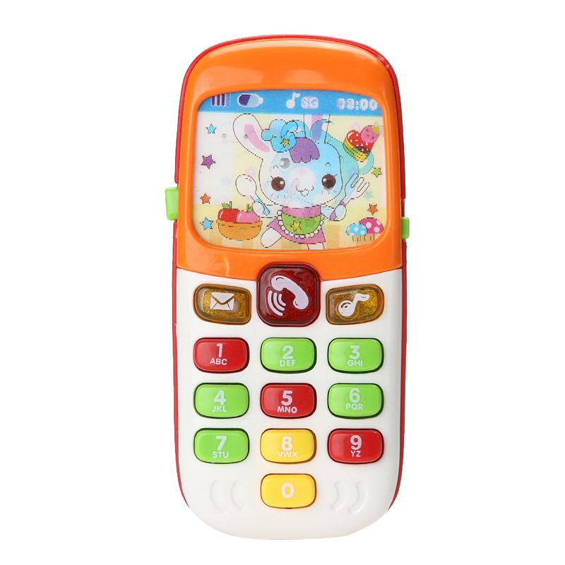 Elektronische Speelgoed Telefoon Kid Mobiele Telefoon Mobiel Telefoon Educatief Speelgoed, mobiele kids telefoons, leren speelgoed mobiele telefoon # 1JT