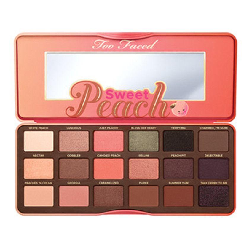 Paleta De Sombra Too Faced Sweet Peach Sombra Pêssego Paleta De Pêssego Produtos De Maquiagem