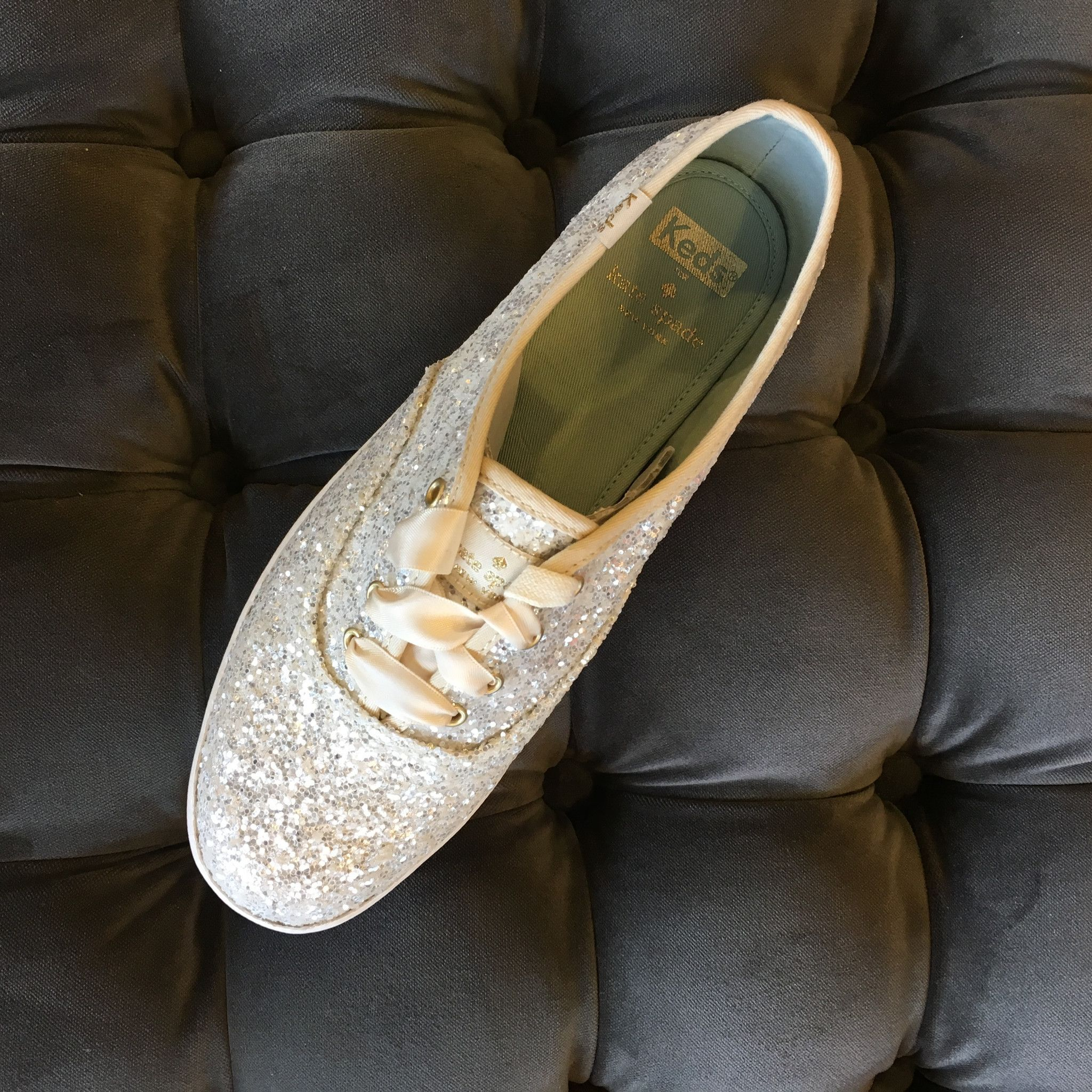 White Glitter Shoes (With Images)