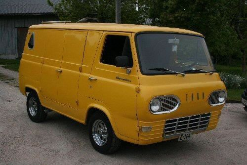 Ford Econoline 1963 Vintage Vans Chevy Van Cool Vans