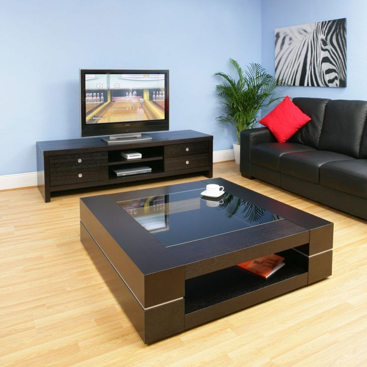 Table Black Coffee Table With Mirror Top Black Glass Coffee Table Magazine Rack Black Coffee Tabl Coffee Table Coffee Table Design Modern Townhome Living Room Black glass living room furniture