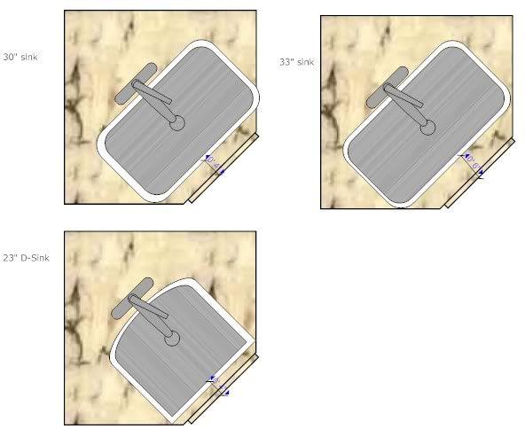 Largest Single Bowl U M Sink For 39 In Angle Sink Base Front Corner Sink Kitchen Corner Sink Kitchen Cabinets With Sink