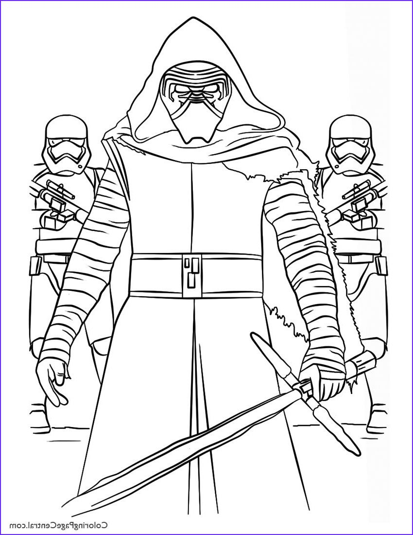 13 Inspirational Star Wars Coloring Pages For Kids Photos Star