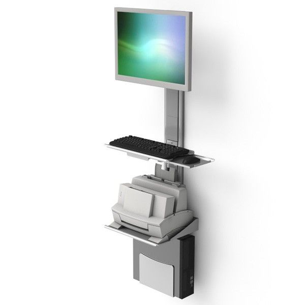 Wall Mount Monitor With Printer Which Are Easy To Access Now Available At Ergoprise For More Details Visit Us