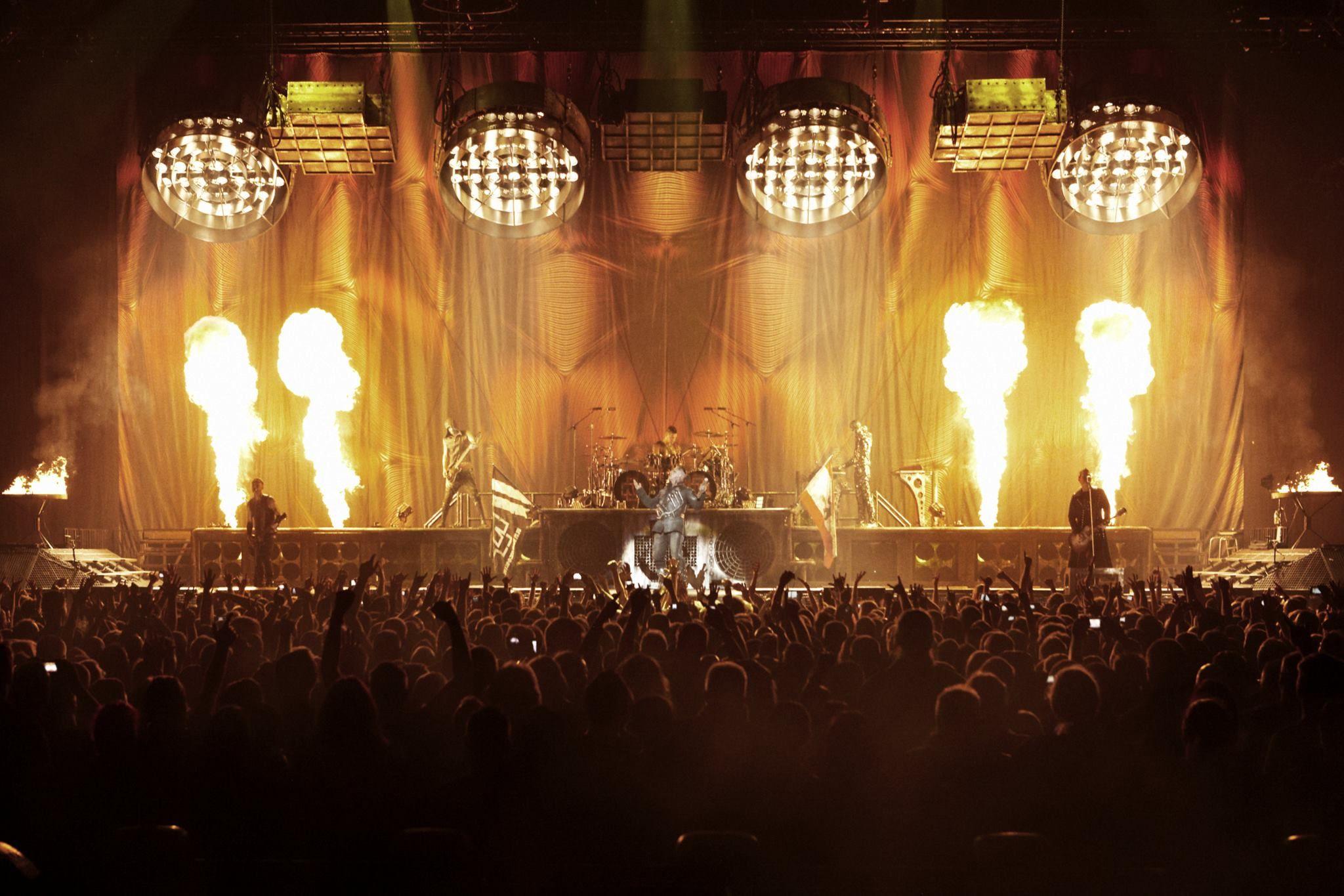 Rammstein Rammstein Industrial Metal Heavy Concert