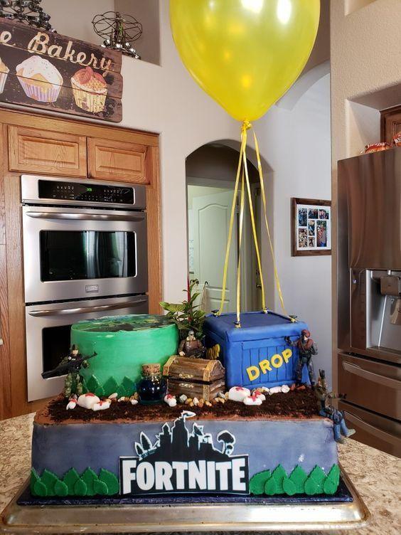Fortnite Tortas Decoradas Para Fanáticos Tarjetas Imprimibles Cumpleaños De Muchacho Comida Para Cumpleaños Tortas