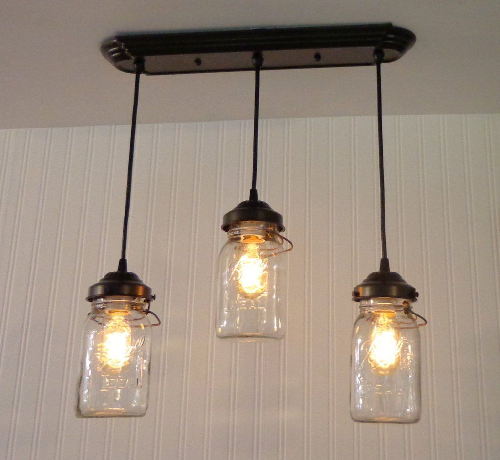Mason jar 3 light chandelier rectangular vintage quarts mason jar mason jar 3 light chandelier rectangular vintage quarts arubaitofo Choice Image