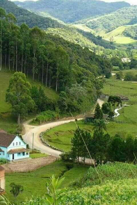 Estrada Rural Em Algum Lugar No Brasil Com Imagens Estradas