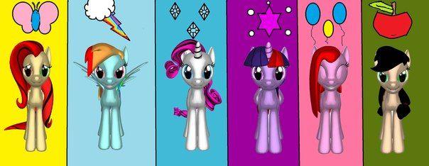 Пони креатор 4 с новыми прическами
