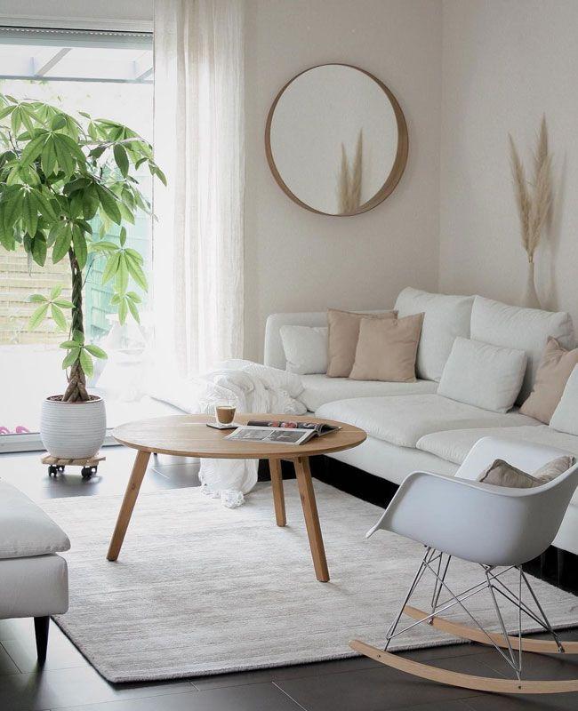 Comment utiliser le blanc dans la déco du salon ? | Shake My Blog