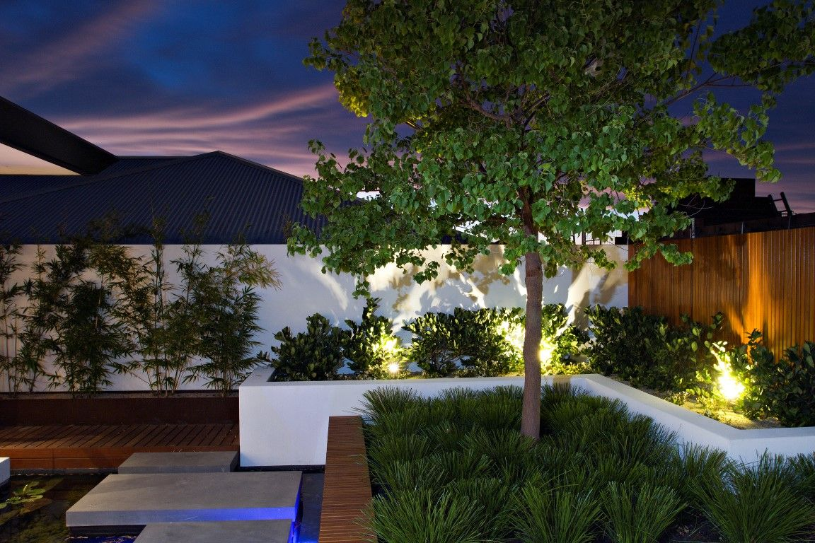 Contemporary landscaping by Tom Davies Contemporary