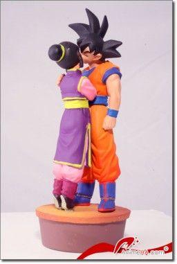 Dragon Ball Z Son Goku Chi Chi Capsule Neo Cell Edition Megahouse Dragonball Z Goku Dragon Ball