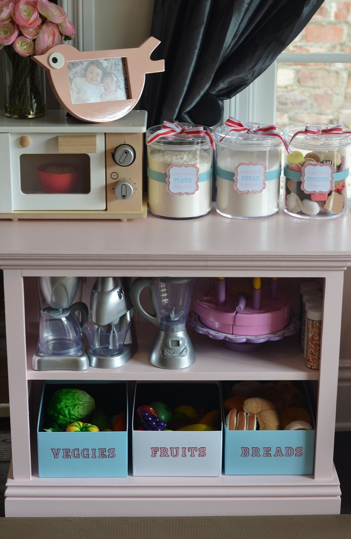 Pin By Christina Avin On Playroom Kids Play Kitchen Diy Play Kitchen Play Kitchen