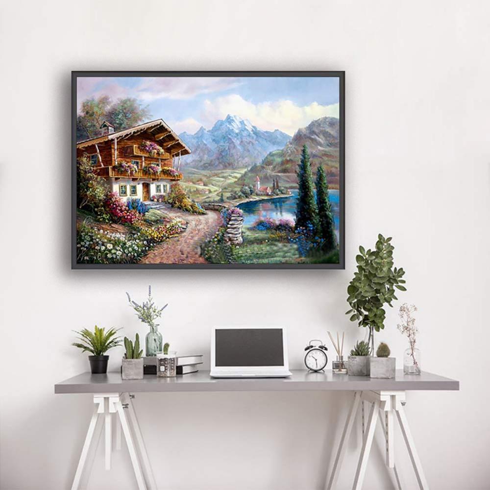 DIY 5D Diamond Painting Embroidery Cross Craft Stitch Art Kit Home Wall Decor
