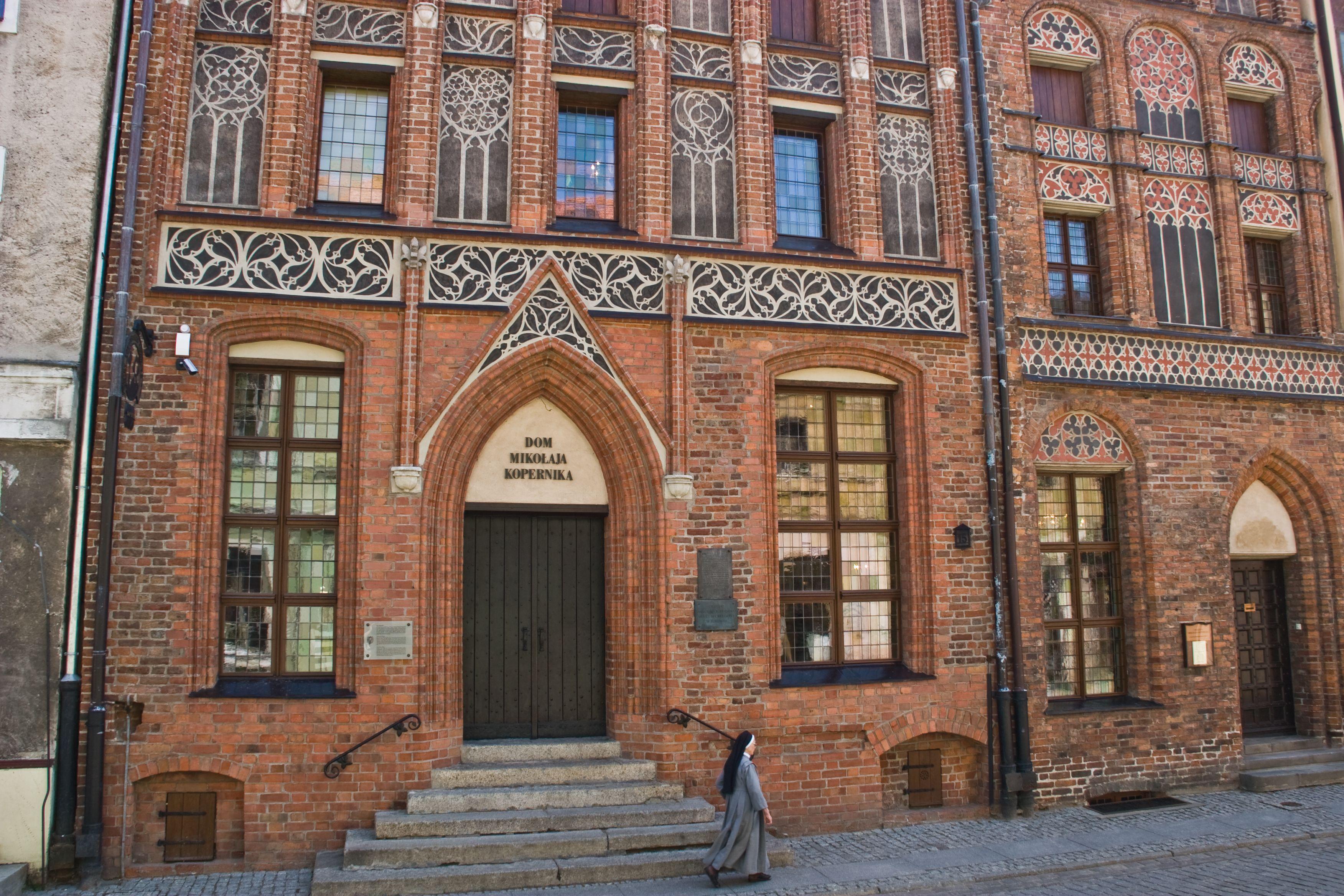 Torun - Copernicus House  http://www.polen.travel/sv/stader-och-stadslivet/torun