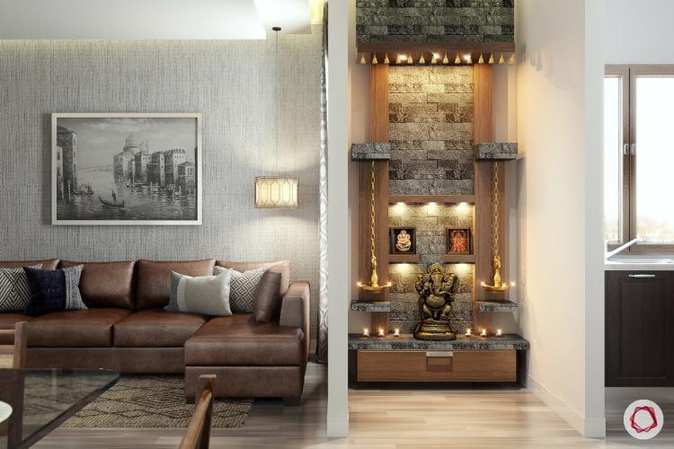 10 Divine Pooja Room Designs For Urban Homes Small Space Living