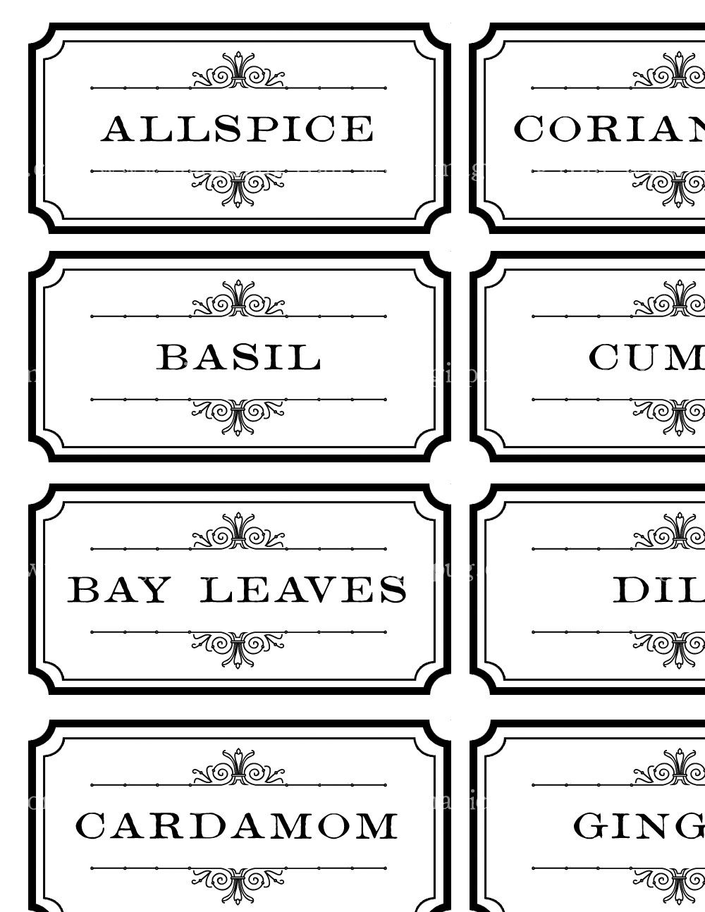make your own spice jars how to make your own spice jar labels