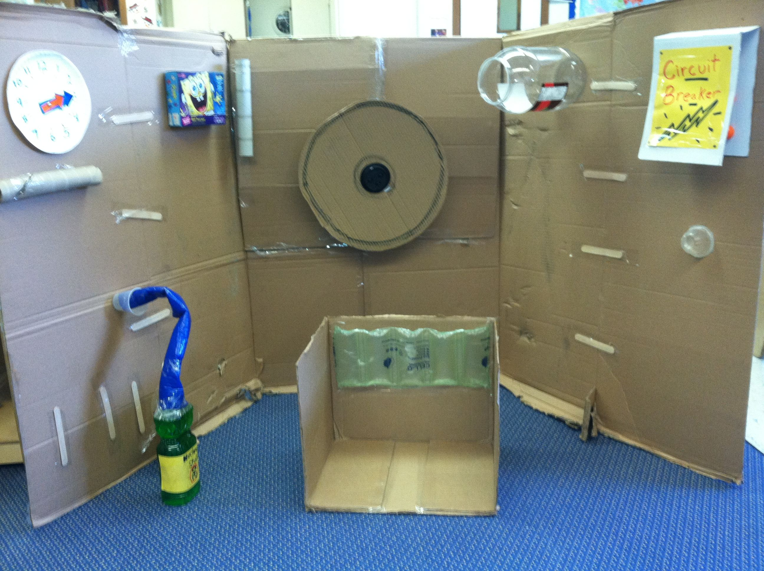 how to make a time machine for kids