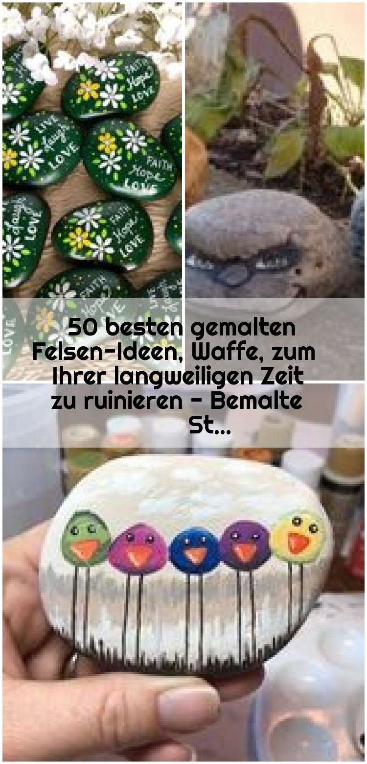 50 Best Painted Rock Ideas Weapon To Ruin Your Boring Time  Painted Stones  50 Best Painted Rock Ideas Weapon To Ruin Your Boring Time  Painted Stones   50 Best Painted R...