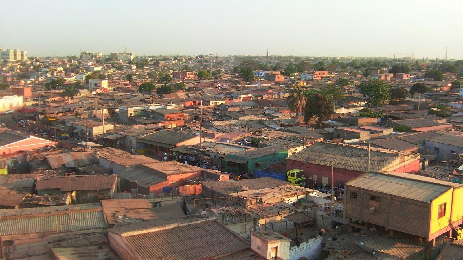 The Roof Above My Head Musseque Sambizanga Luanda Angola In 2020 Visa Online Angola Tourist