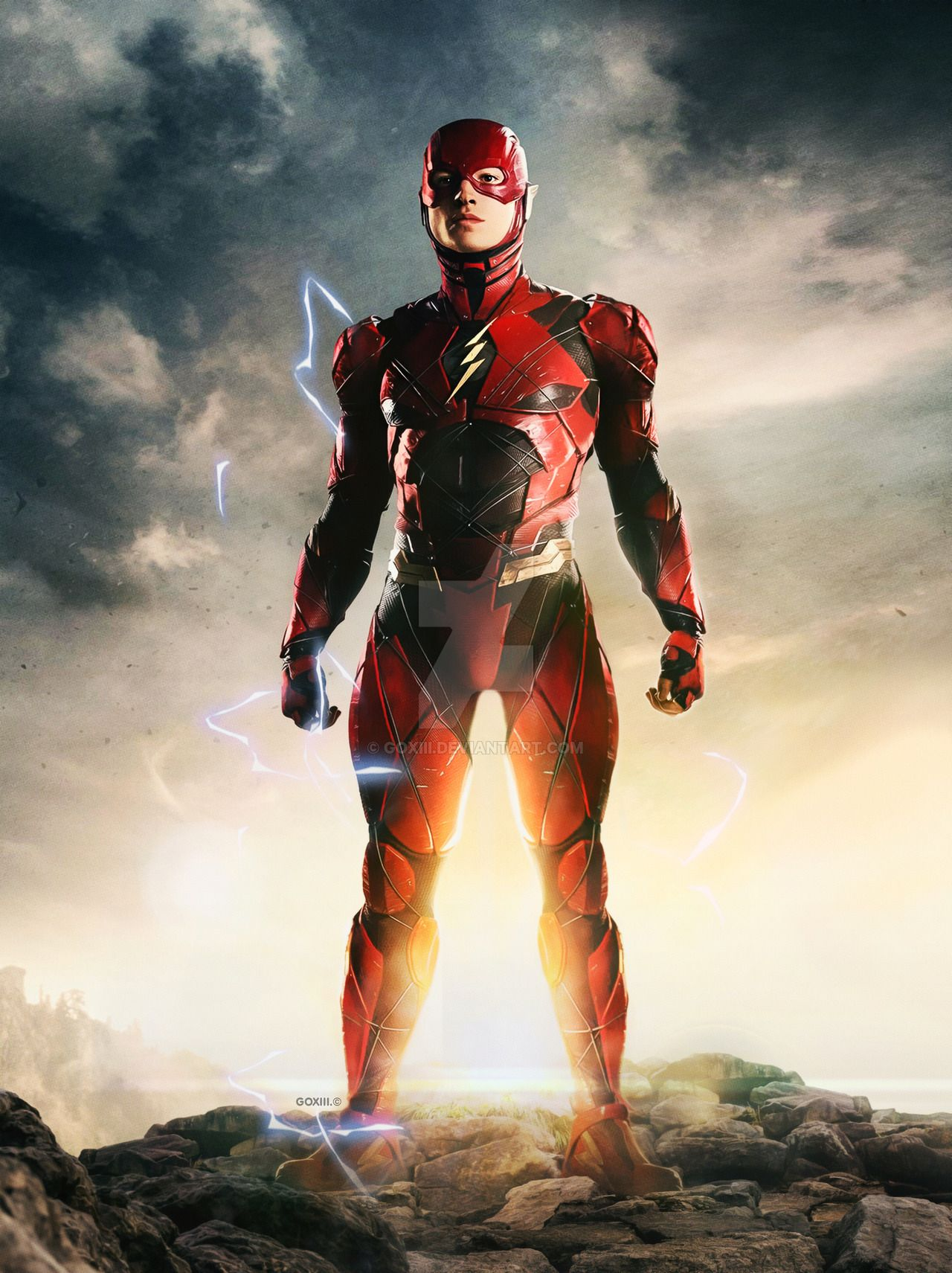 Justice League  The Flash by GOXIII on DeviantArt  d98310915b2a