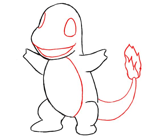 How To Draw Charmander With Images Pokemon Sketch Pokemon