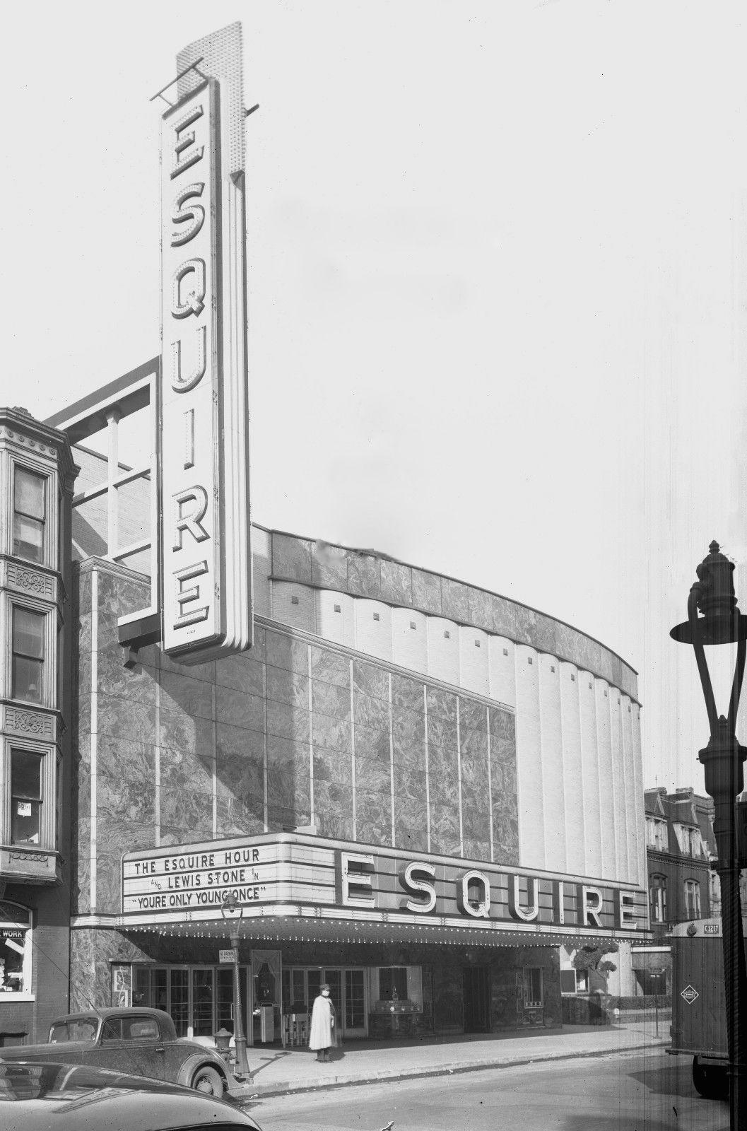 Calumet 412 the esquire theater oak st between
