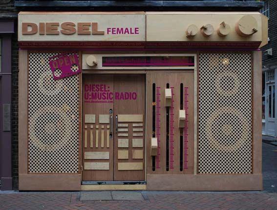 Diesel / London Storefront